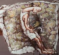 Акриловые ручная роспись китайский художник Ян Zeming работы Книга и молодых урожай 150X150 см настенные картины искусство абстрактный