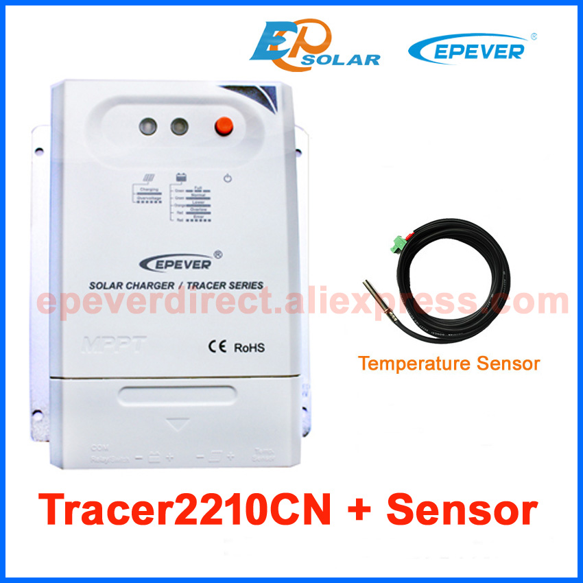 CN EPEVER series controller EPSolar brand battery charging controller 20A 20amp Tracer2210CN with temperature sensor delta temperature controller dta series dta4848c0 dta4848v0 new