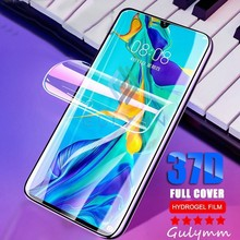 Hydrogel Film For Huawei P30 P 30Pro 20 Mate Pro Lite Screen Protector Honor 10 37D Ultra thin Protective Cover