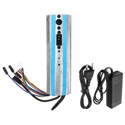 Skuter elektryczny aktywowany deska rozdzielcza Bluetooth płyta sterowania płyta główna kontroler i ładowarka dla Ninebot Es1 Es2 Es3 Es4  ue P w Części i akcesoria do hulajnogi od Sport i rozrywka na
