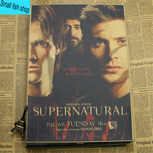 Supernatural Dean & Sam Winchester and Castiel Posters