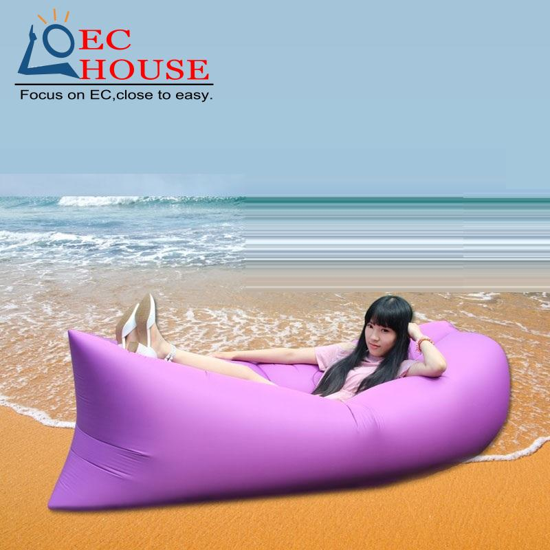 Super fire air bag double outdoor portable folding leisure lazy thickening inflatable sofa