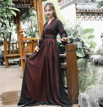2020 hanfu national costume ancient chinese cosplay costume ancient chinese women hanfu clothes lady chinese stage dress фото
