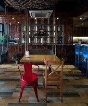 E27 Свет Белый Черный Металл Nordic Ресторан Бар Droplight Американский Кантри Промышленность Древний Стиль Подвесной Светильник Горшок Droplight