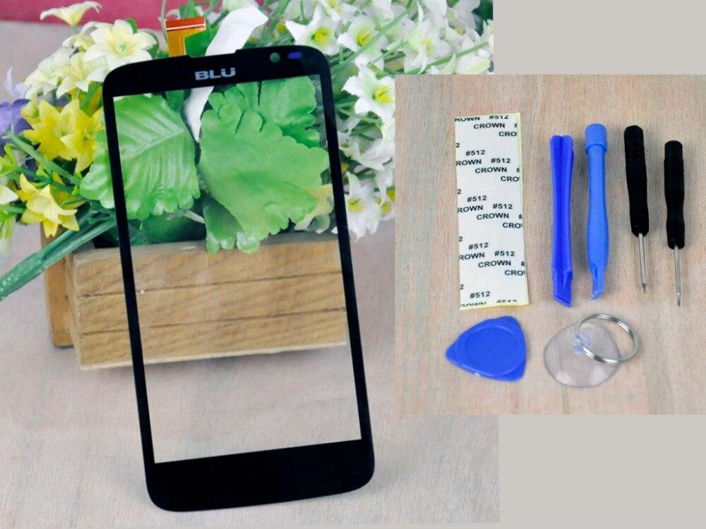 """imágenes para 5.0 """" negro Panel de la pantalla táctil para BLU Studio G D790u D790L digitalizador herramientas Kits del vidrio delantero envío gratis número de seguimiento"""
