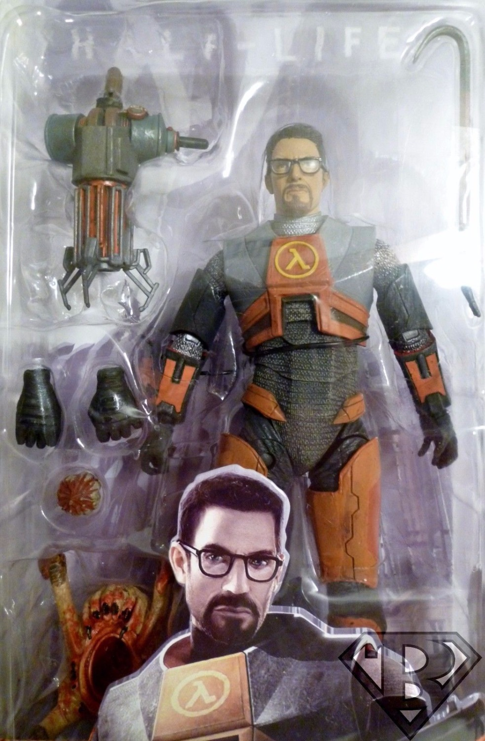 ФОТО   Movies Half-Life 2 Videogame Super Star Dr Gordon Freeman 7inches Figure Model Kids Toys Collections
