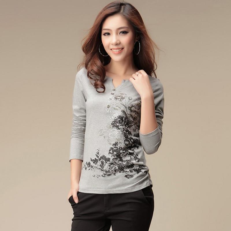 Print Casual T Shirt Women