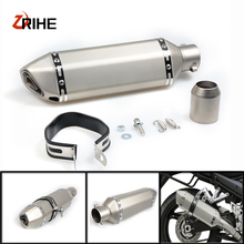 Universal 36-77 Motorcycle Exhaust Pipe Modified Muffler Pipefor Aprilia tuono v4r factory rsv mille R RSV MILLE /
