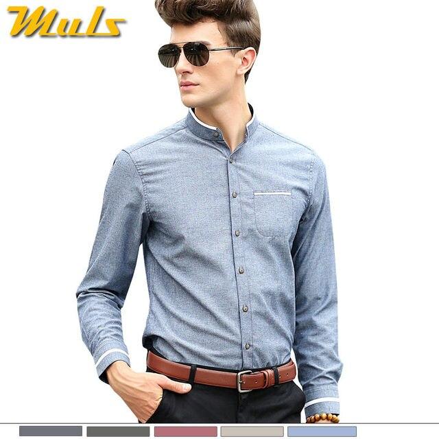 e3e84f995b Moda urbana 5XL vestido de los hombres camisa de manga larga marca  importados Camisa de algodón