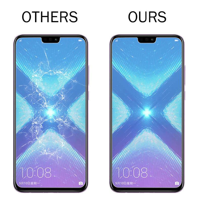3-1 ピース/ロットフル強化ガラス Huawei 社 P20 Lite スクリーンプロテクター Huawei 社の P20 P20 プロ P30 名誉 8 9 10 Lite 名誉 8X