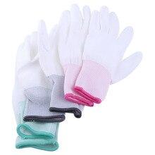 1 пара антистатические перчатки противоскользящие антистатические рабочие перчатки с полиуретановым покрытием защита пальцев часть для ПК компьютер телефон ремонт S-L