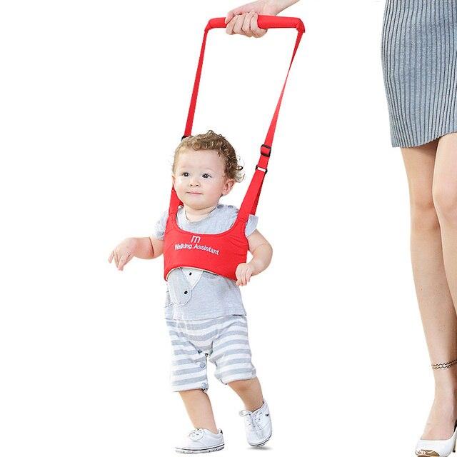 Meibeile suave elástico bebé aprendizaje caminar niños pequeños cinturones arnés para bebé con la protección de la correa ajustable para la seguridad del equilibrio