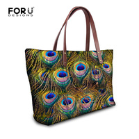 New 2016 Fashion Women Handbags European And American Style Shoulder Bag Casual Peacock Ladies Casual Tote