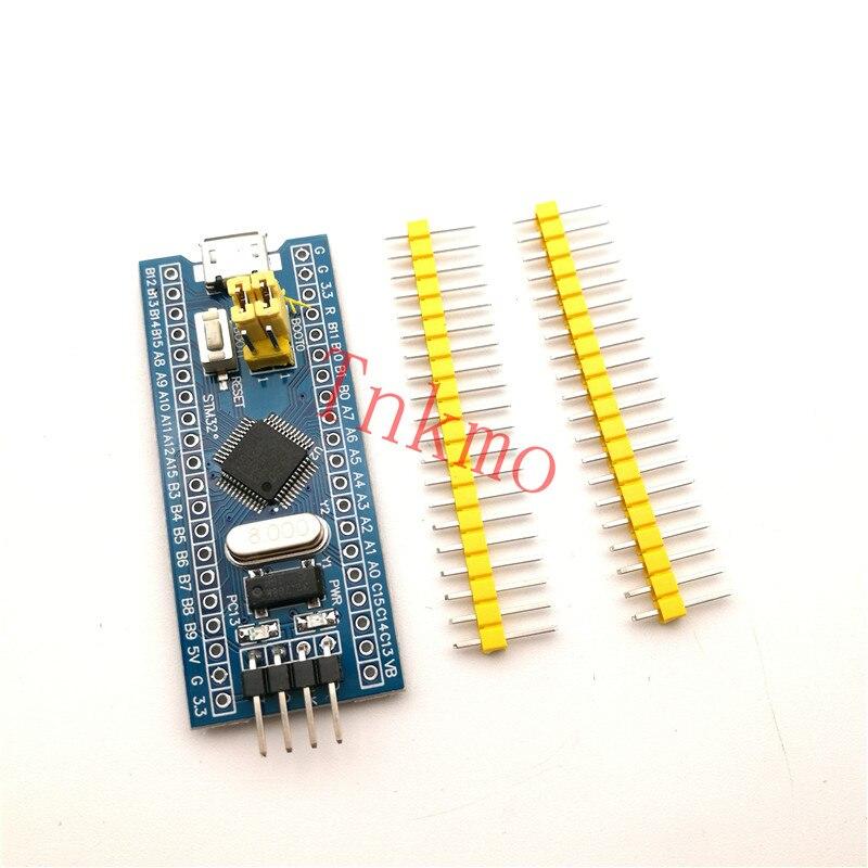 1pcs STM32F103C8T6 ARM STM32 Minimum System Development Board Module For arduino Sensing Evaluation for Skiller module xilinx xc3s500e spartan 3e fpga development evaluation board lcd1602 lcd12864 12 module open3s500e package b