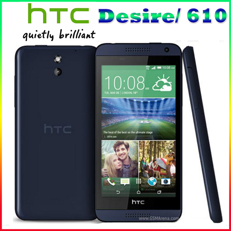 Original HTC Desire 610 Qual Core phone 4 7 TouchScreen 1GB RAM 8GB ROM GPS Wifi