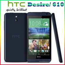 """Оригинальный HTC Desire 610 Кач Ядро телефон 4.7 """"Сенсорный Экран 1 ГБ ОПЕРАТИВНОЙ ПАМЯТИ 8 ГБ ROM GPS Wifi Разблокирована 3 Г и 4 Г Android Мобильного Телефона Бесплатно доставка"""