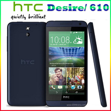 Original HTC Desire 610 Qual Core phone 4.7'TouchScreen 1GB RAM 8GB ROM GPS Wifi Unlocked 3G &4G Android Cellphone Free shipping