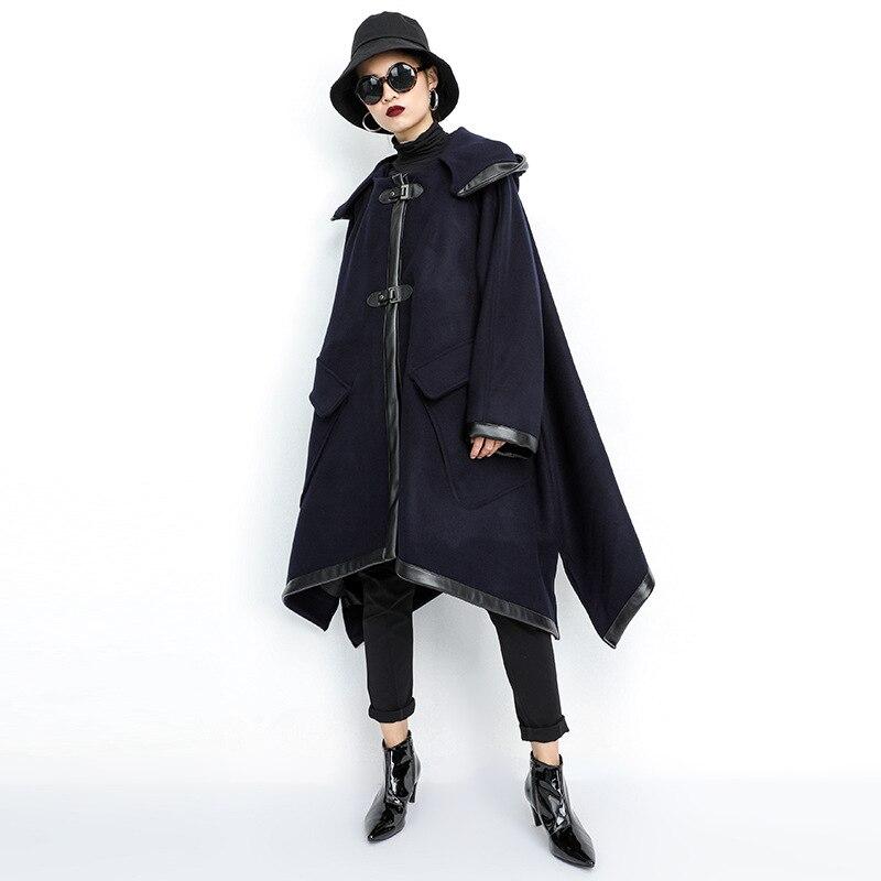 ARCSINX talla grande chaqueta mujer 5XL 10XL 9XL 8XL 7XL chaqueta con capucha Otoño Invierno para mujer abrigo largo mujer moda chaquetas de las mujeres-in chaquetas básicas from Ropa de mujer    3
