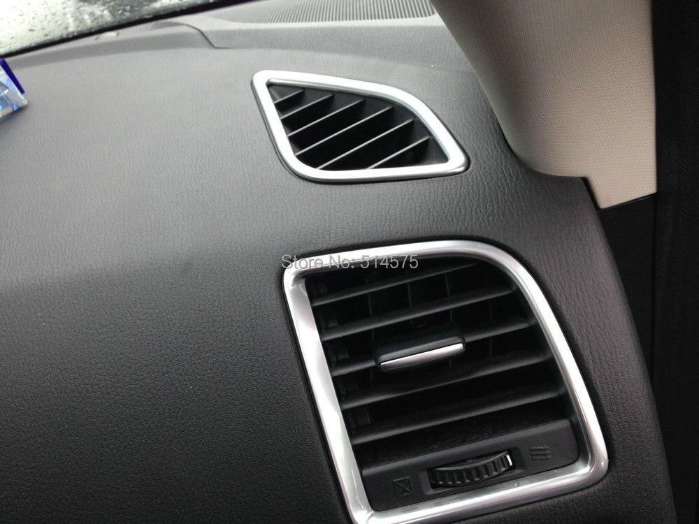 ABS Кондиционер vent кольца подходит для Mazda CX-5 CX5 2012 2013