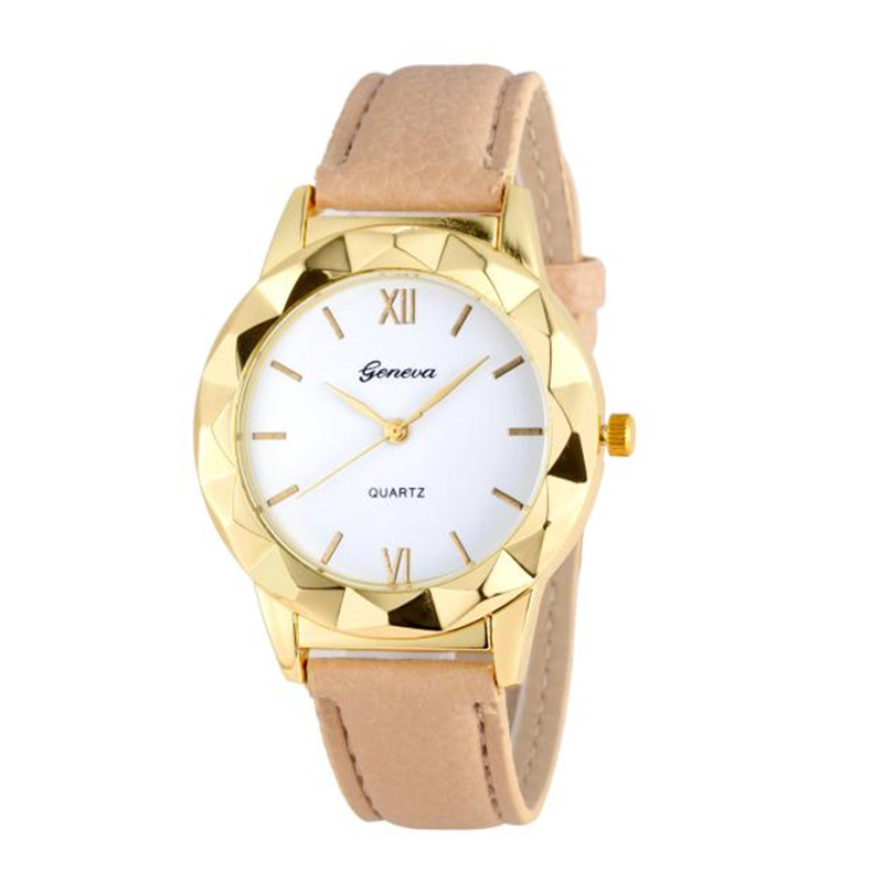 2016 New Arrival Watches Women Geneva Fashion Women Diamond Analog Leather Quartz Wrist Watch Watches montres femmes Hot Sale смартфон samsung galaxy j2 prime sm g532 silver