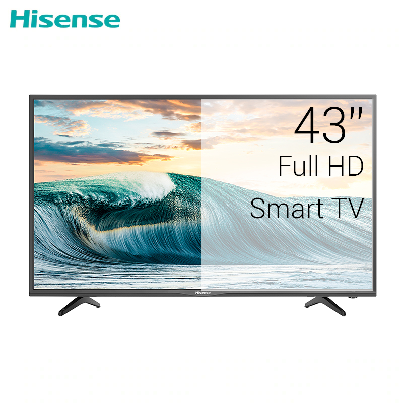 Фото - TV sets 43 HISENSE 43N2170PW FullHD Smart LED CLEAR  TV FHD DOLBY dvb dvb-t dvb-t2 digital 4049InchTv television chunghop universal learning remote control controller l309 for tv sat dvd cbl dvb t aux big key large buttons copy