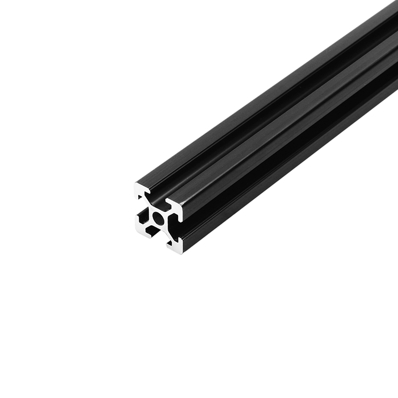 1500mm Length Black Anodized 2020 T-Slot Aluminum Profiles Extrusion Frame For CNC 3D Printer Plasma Laser Stand Furniture New 4040 length 300mm t slot aluminum profiles extrusion frame for cnc 3d printer lasers stands furniture durable