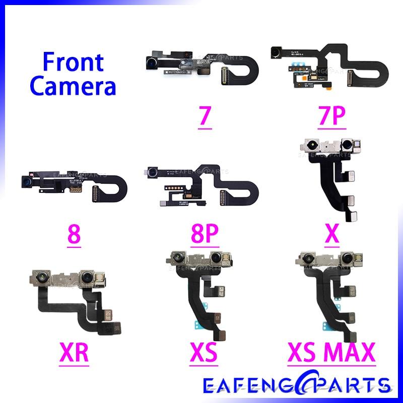 10 pcs/lot for iPhone 6S Plus Front Camera Flex Cable 5SE 5C Small Cam Light Promixity Sensor XR XS Max Parts For 7 8 Plus
