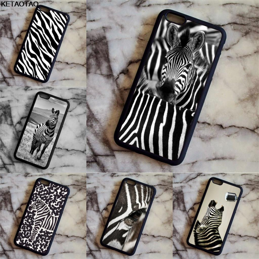 KETAOTAO Zebra Pattern Stampa Animale Phone Cases for Samsung galaxy S3 4 5 6 7 8 9 Note 4 5 7 8 Case Soft TPU Rubber Silicone