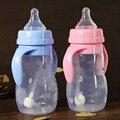 240 ml Suco de Garrafa Bebê Bonito Infantil Crianças Palha Lidar Com Garrafa De Garrafas de Água Copo de Recém-nascidos Crianças Aprendem A Beber Alimentação
