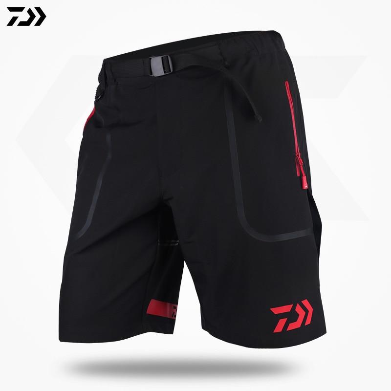 Daiwa Fishing Clothing Summer Shorts Loose Outdoor Sports Running Quick Dry Breathable Waterproof Camping Hiking Heated Pants