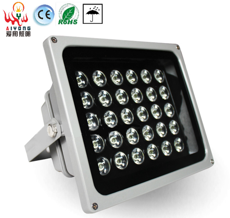High power LED flood light 30W projection advertising spotlight outdoor water proof door light projection lamp 30% off 2pcs ultrathin led flood light 50w black ac85 265v waterproof ip66 floodlight spotlight outdoor lighting free shipping