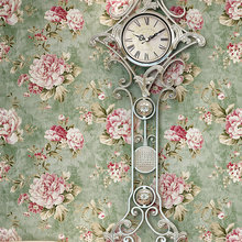 PAYSOTA American Style Wallpaper Bedroom Living Room  nonwoven Wall Paper Roll
