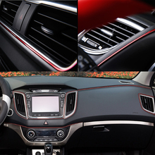 5M Car Styling Moulding Interior Decoration Strips Trim Dashboard Door Edge Auto Accessories Car-styling Universal For All Cars