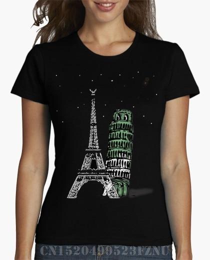 Spring summer black friday t shirts girl Paris Roma Short sleeves Novelty Knitted kpop tees girl Clothing