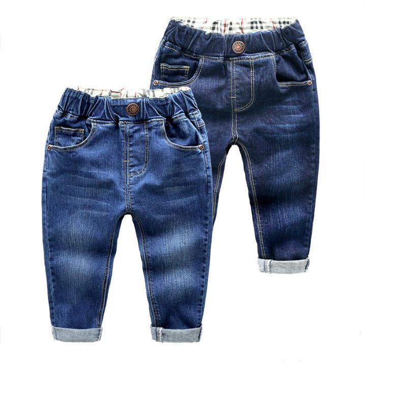 DIIMUU 2018 Spring Fashion Baby Boys Denim Casual Pants Trousers 0-4 Years Summer Jeans for Kids Pants Children Clothing men s classical straight jeans male slim fit plus size pants for men designer casual homme denim classic trousers spring e489