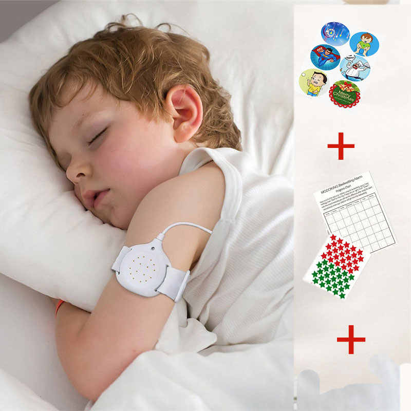 MoDo-king Medical Bedwetting Alarm For Baby Nocturnal Enuresis Alarm Adult Bed Wetting Treatment Urine Alarm Potty Training