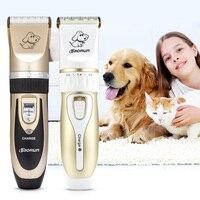 BaoRun Professional Rechargeable Pet Dog Cat Hair Trimmer Electrical Clipper Cutter Animal Haircut Machine Grooming Tool EU PLUG