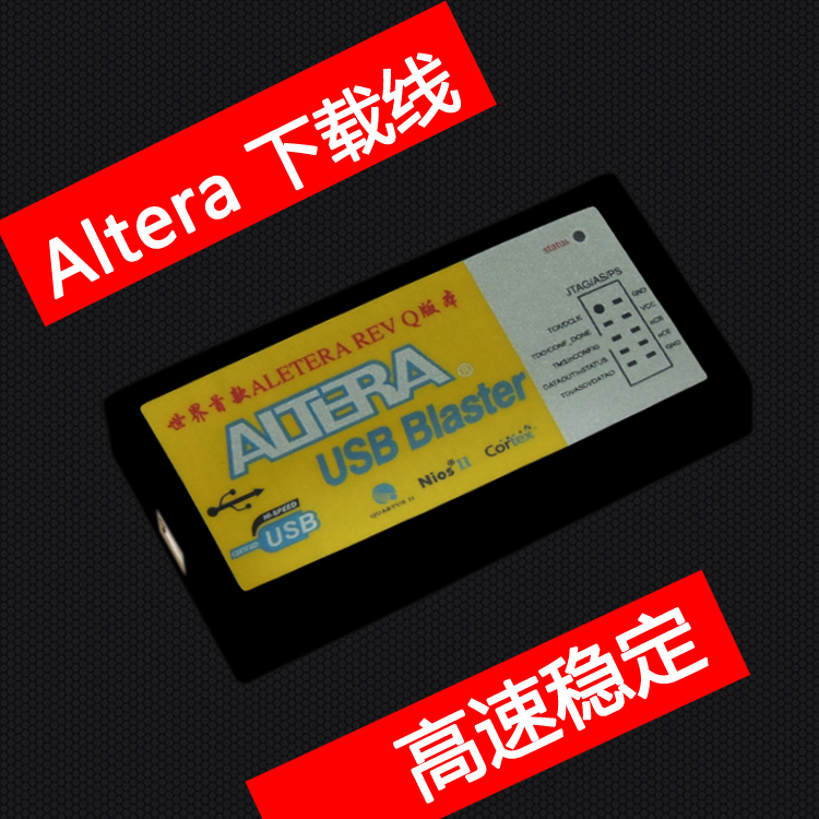 US $39 8 |Altera USB Blaster download cable FPGA / CPLD Downloader REV Q  version-in Other Electronic Components from Electronic Components &  Supplies