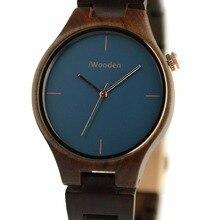 100% натуральный черного дерева женщины/мужчины смотреть мода здоровье дамы кварцевые часы женщины/мужчины платье наручные часы женщины/мужчины Старинные часы