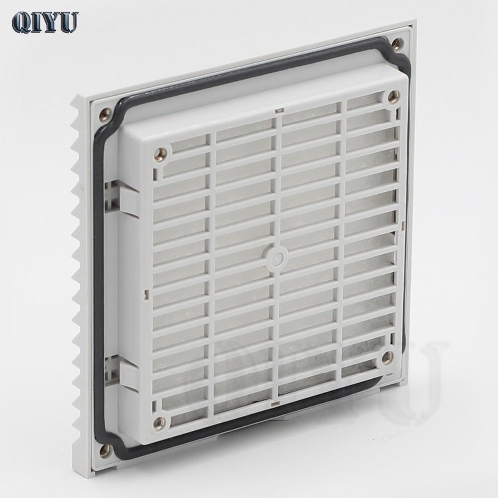 Hvac фильтр вентиляционные отверстия шкаф фильтр воздушный фильтр вентилятор решетка FB9803 SK выходной фильтр вентилятор Гриль, 148,5*148,5*28 (мм)