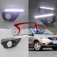 9 LED Lámpara de La Niebla Luz del Día Para Renault koleos 2011-2013 DRL Luces Diurnas Especiales