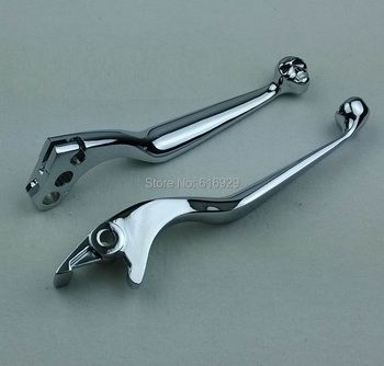 chrome motorcycle accessories brakeclutch lever for HONDA STEED 400 SHADOW 400 750 MAGANA 250 VT VTX nc 29 23 CB-1 CB400 VTEC Мотоцикл