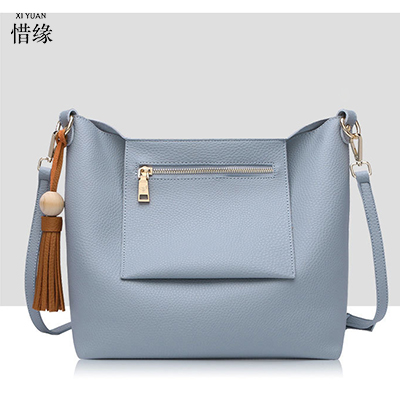XIYUAN BRAND autumn Cute Women blue Messenger Bags Small High Quality PU leather Shoulder Bags Ladies Hand Bags crossbody bag xiyuan brand ladies beautiful and high grade imports pu leather national floral embroidery shoulder crossbody bags for women