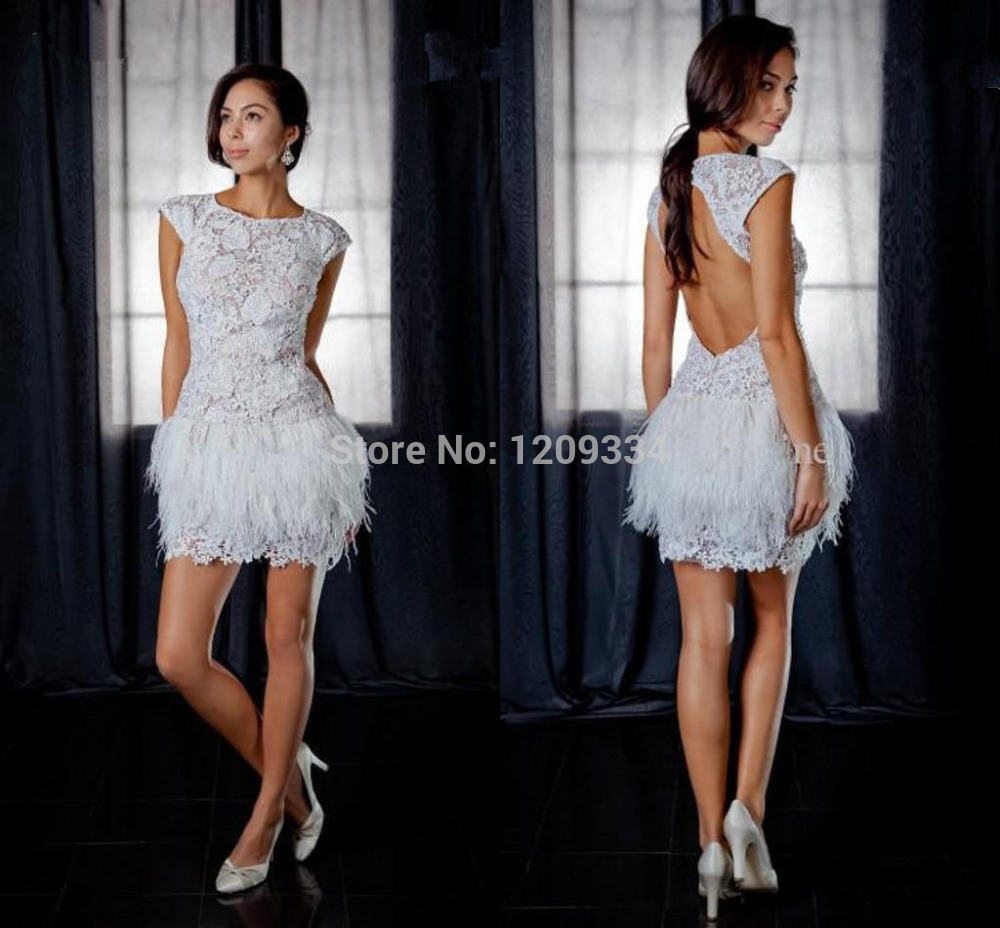 White Sexy Cocktail Dresses