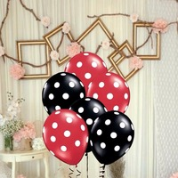 100 sztuk/partia 12 calowy 3.2g Polka Dot Balony Lateksowe Kid Party Pływak Powietrza Piłki Wedding Party Xmas Dekoracji Urodziny balony Zabawki