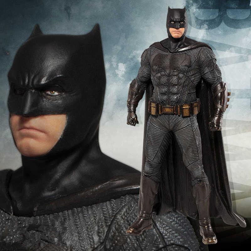 """Бесплатная доставка 8 """"JLA аниме американский супер герой Бэтмен в коробке 20 см ПВХ фигурка Модель Кукла, подарок для девочки"""