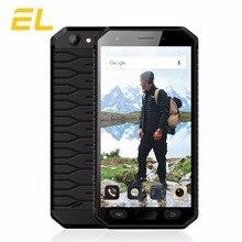 E & L S30 4 г мобильный телефон 4.7 дюймов IPS HD mtk6737 quad-core 2 ГБ + 16 ГБ сотовые телефоны IP68 Водонепроницаемый отпечатков пальцев Смартфон Android