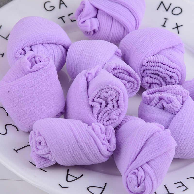 Verano bebé calcetines malla fina poliéster Unisex infantil calcetines cortos transpirables para niños 0-3 años de algodón