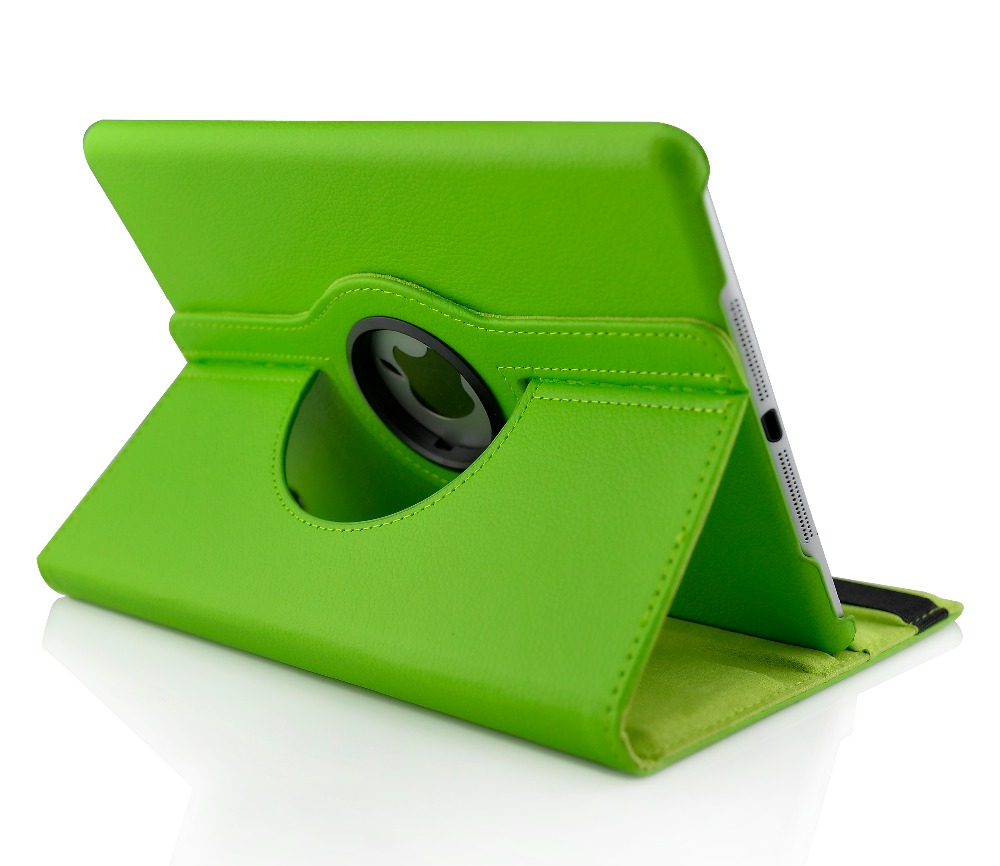 Case For Ipad 2 3 4-2011`2012 Listing ,Lichee Grain 360 Degree Rotate Full Body Protective Cover Flip ,For Apple Ipad 4 3 2 Case