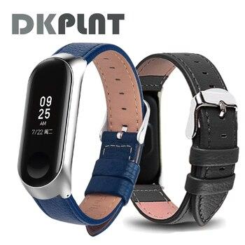 Bracelet for Xiaomi Mi Band 6 5 4 leather Strap Replacement Wristband MiBand 6 4 band5 Wrist Strap for xiaomi Mi Band 4 3 strap 1